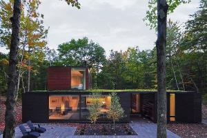 Nifty Modern House Wisconsin Blends Dense