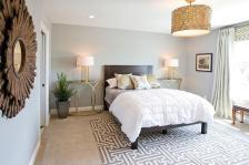 Nightstands Bedside Tables Add Golden Glint