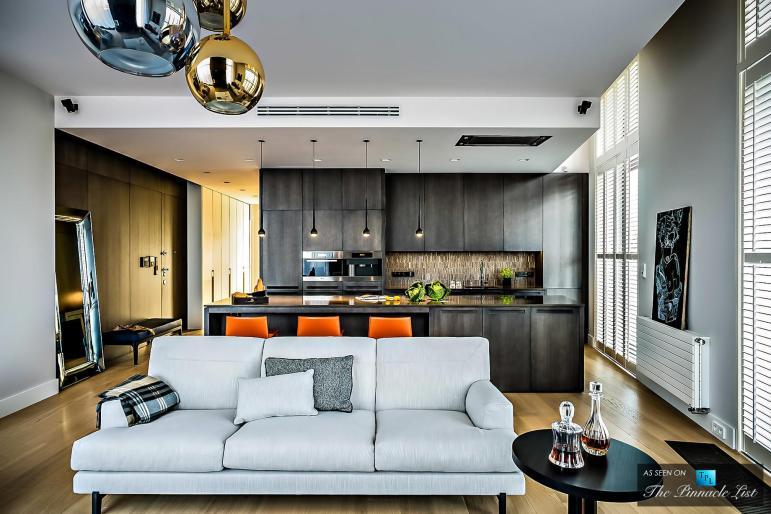Nowe Powisle Luxury Penthouse Warsaw Poland