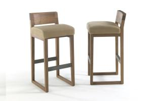 Oak Chairs Kitchen Stools Trendy Modern Bar