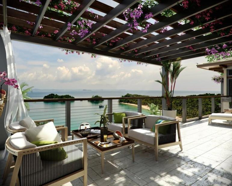 Ocean Patio Bouganvillea Outdoor Lounge