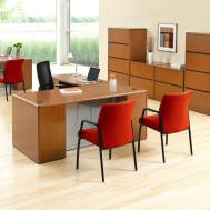 Office Bright Retro Home Design Orange