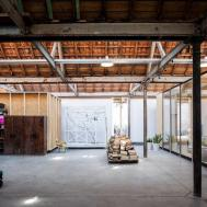Office Space Temporary Housing Inside Former Textile