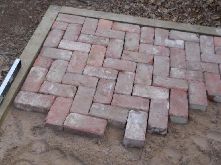 Oklahoma Projects Around House Diy Brick Patio