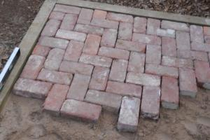 Oklahoma Projects Around House Diy Brick Patio