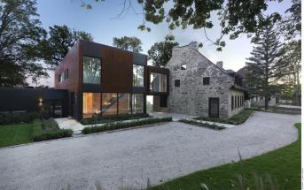 Old Home Meets Contemporary Architecture Bord Lac