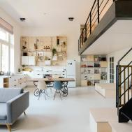 Old Schoolhouse Converted Into Loft Apartments