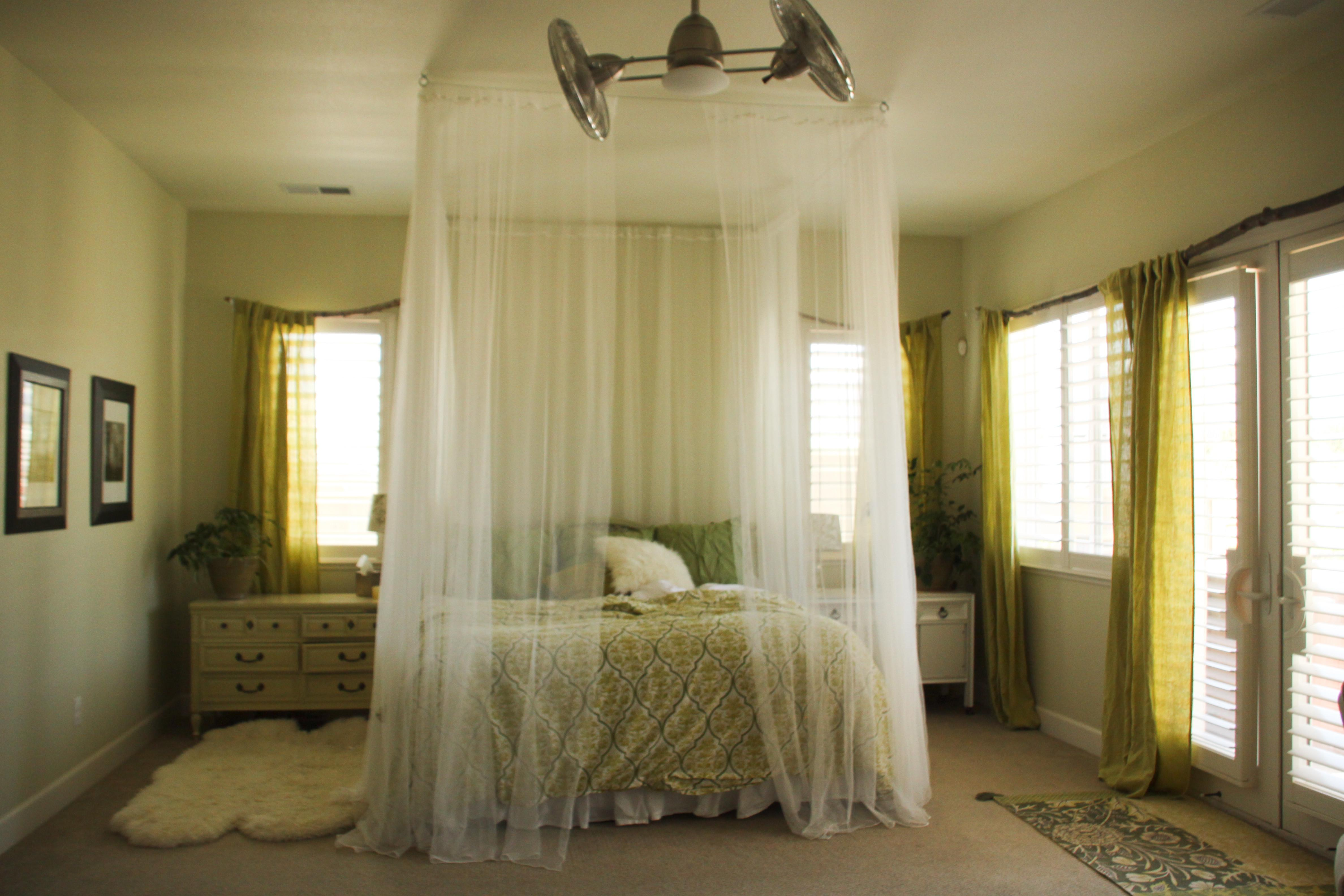 - Photo Of Diy Ceiling Mounted Bed Canopies That Will Add Charm