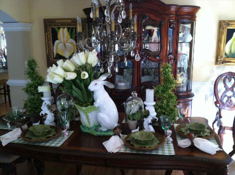 Ombre Egg Vase Familycirclecom Spring Fresh