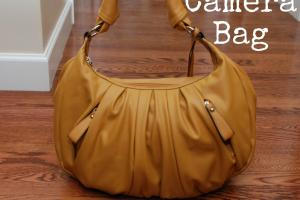 One Creative Housewife Diy Camera Bag