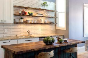 Open Shelves Kitchen Design Ideas Shelving Style