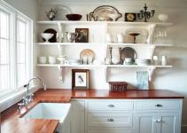 Open Shelves Kitchen Design Ideas Simple Person