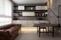 Open Shelving Office Storage Interior Design Ideas