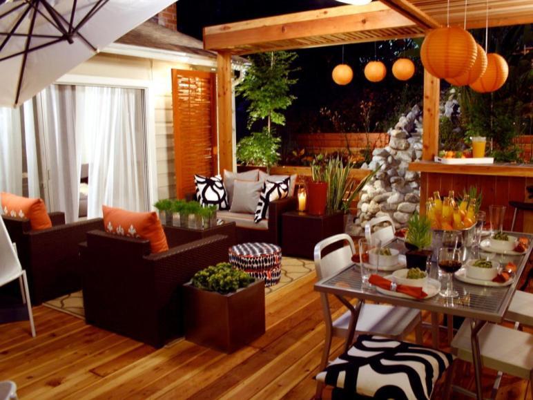 Orange Home Decor Decorating Color
