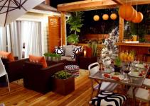 Orange Home Decor Decorating Color
