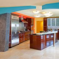 Orange Modern Kitchen Photos