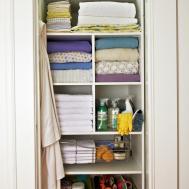 Organizing Linen Closet