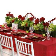 Our Selection Red Weddings Decors
