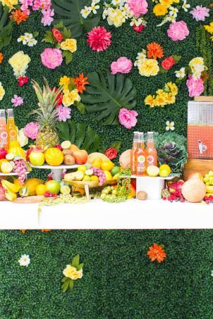 Our Tropical Garden Party Diy Fruit Necklaces