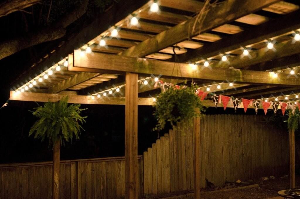 44 comfy decorative patio lighting