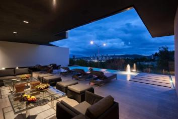 Outdoor Furniture Terrace Infinity Pool Stylish
