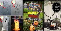 Outdoor Halloween Decorations Diy Easy