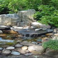 Outdoor Hanging Beds Small Rock Garden Design