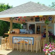 Outdoor Tiki Bar Cape Cod Bayside Resort