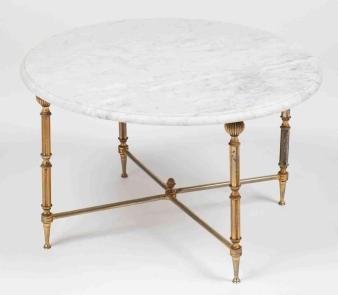 Oval Bedside Table Temasistemi