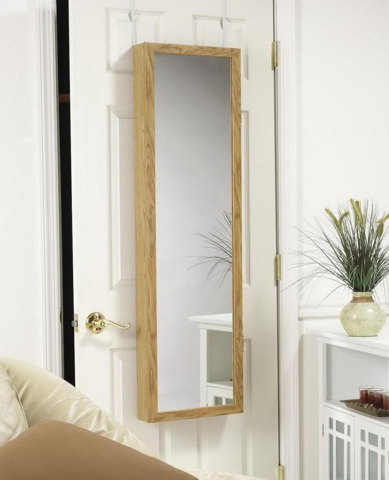 Over Door Mirror Makeup Organizer Home Design Ideas