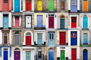 Painting Your Front Door Lowry