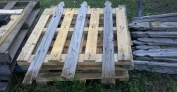 Pallet Fence Purposing Pallets Hometalk