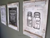 Pallets Calendars Diy Wall Art Scavenger Chic