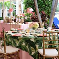 Palm Beach Lately Baby Shower Glam Pad