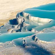 Pamukkale Blue Lagoon World Most Beautiful