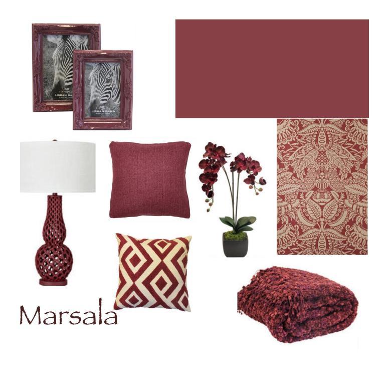 Pantone Colour Year Marsala Brazenwoman