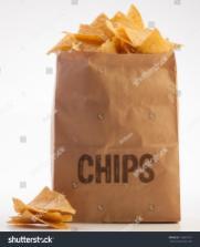 Paper Bag Tortilla Chips Stock Shutterstock