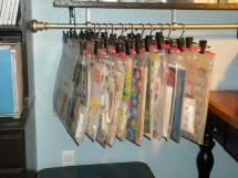Paper Ice Craft Room Organization Ideas