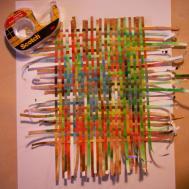 Paper Weaving Femalecelebrity