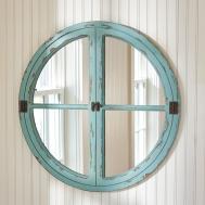 Parkdesignssplitp Round Window Sea Wall Mirror