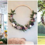 Party Decor Trend Hoola Hoop Wreaths Life Place