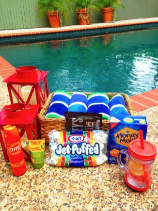 Party Etiquette Festive 4th July Pool Ideas