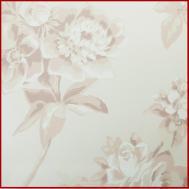 Pastel Bloemen Moderne Stijl Non Woven Behang Voor