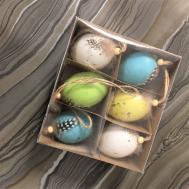 Pastel Easter Egg Hanging Decorations Tutti Decor Ltd
