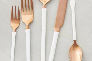 Pastels Metallics Other Spring Tableware Trends