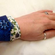 Patchwork Fabric Frienship Bracelet Make