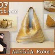 Pdf Sewing Pattern Make Amelia Hobo Bag Instant