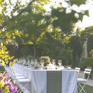 Perfect Romantic Italian Garden Dinner Party Rock