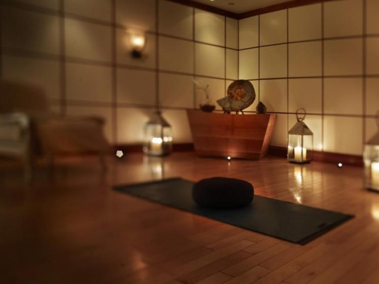 Perfect Shoji Screen Maple Floor Ambient Lighting