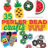 Perler Bead Roundup Girl Glue Gun